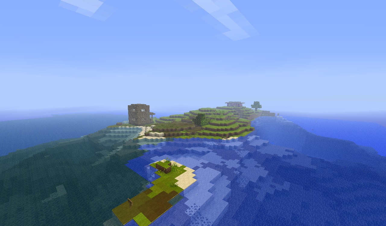 Bermuda Island Survival! Minecraft Project