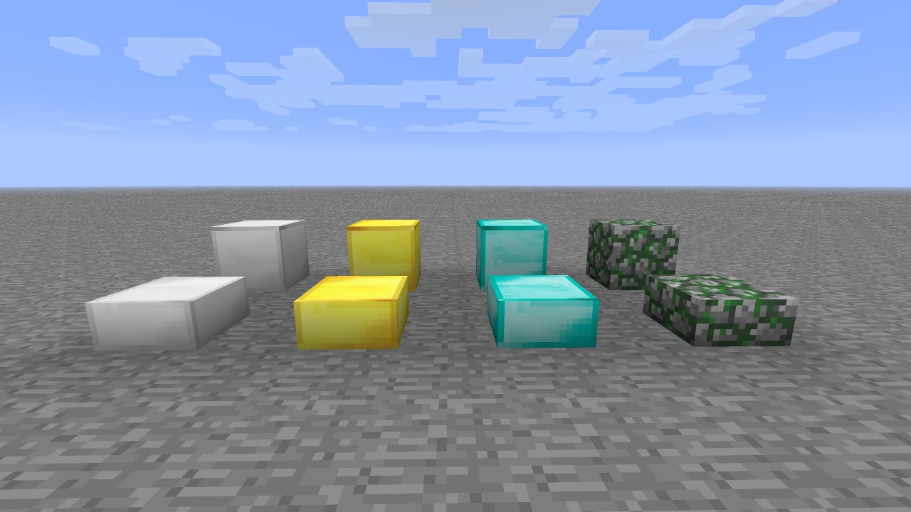 how to make stone slab blocks in minecraft