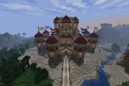 Palace Spawn (Third Worth 1000 Comp) Minecraft Map & Project