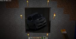 super cars art texture pack Minecraft Texture Pack