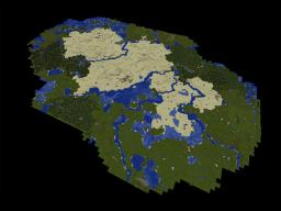 Desert Area Seed Minecraft Map & Project
