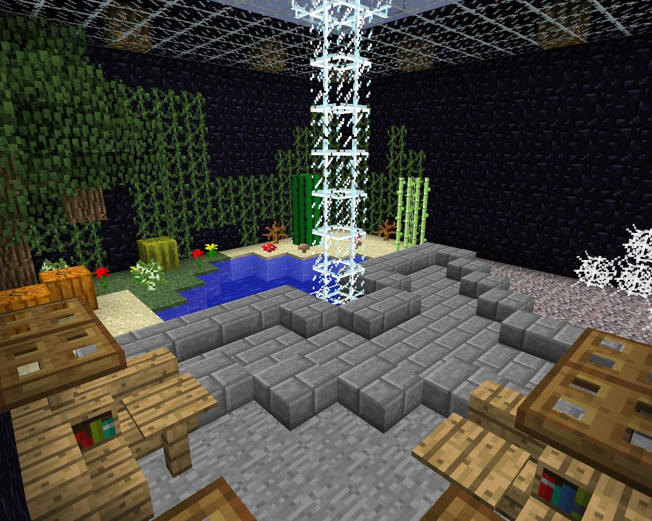 Faction or Team Base (1 chunk, 7 level) Minecraft Project