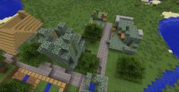Acient NPC village Minecraft Map & Project