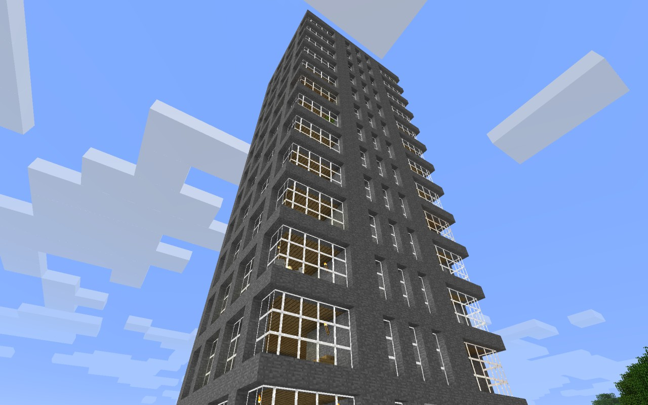 Minecraft Skyscraper Mod The Skyscraper Minecraft