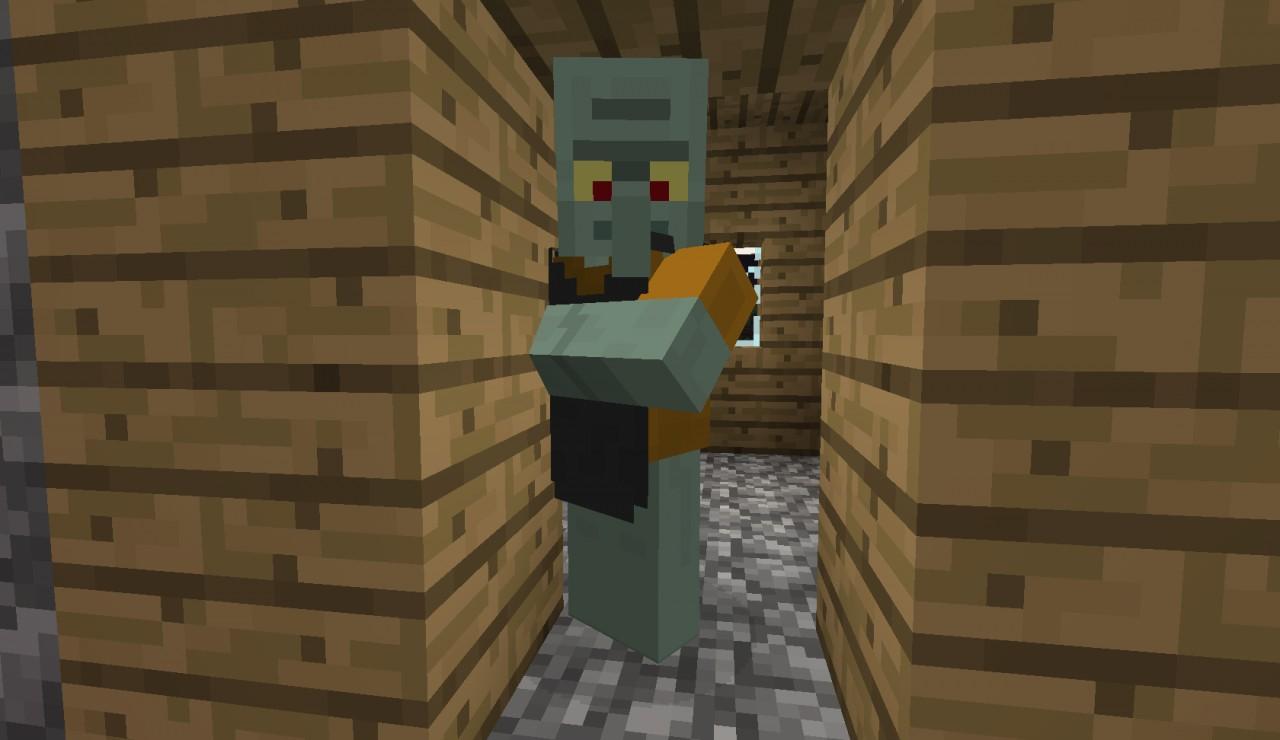 Minecraft Real Life Villager Default squidw... minecraft