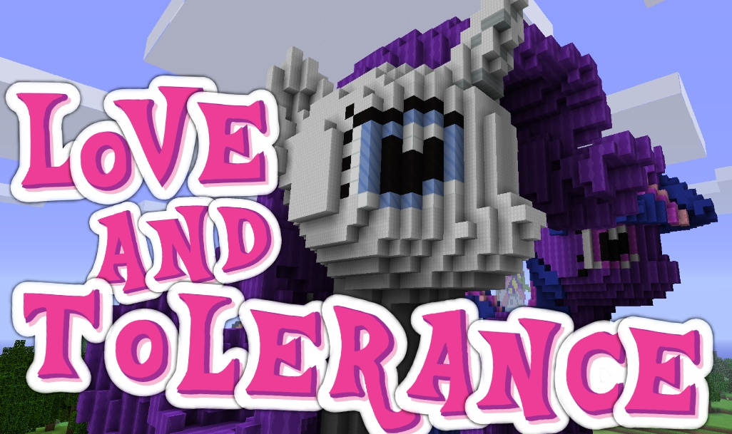 Love And Tolerance Minecraft Texture Pack