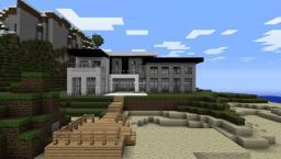 Mordern Beach House Minecraft Project