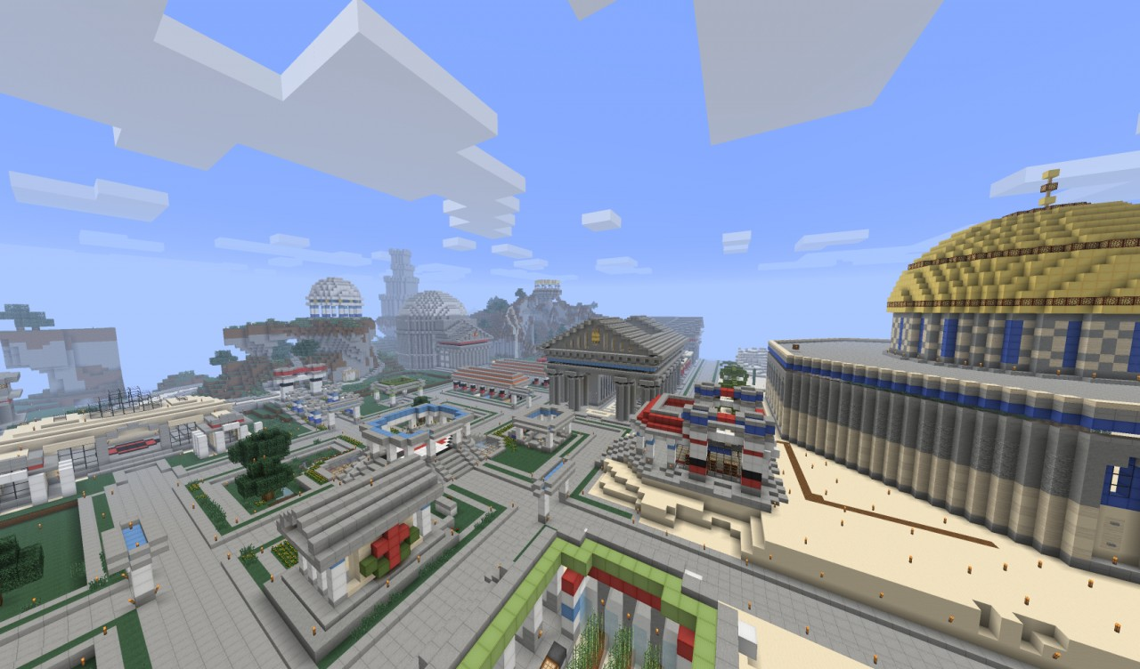 Old spawn now a creative map