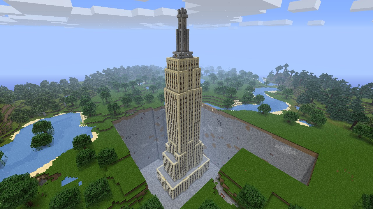 Empire State Building Minecraft Project