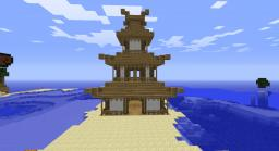 Chinese house Minecraft Map & Project