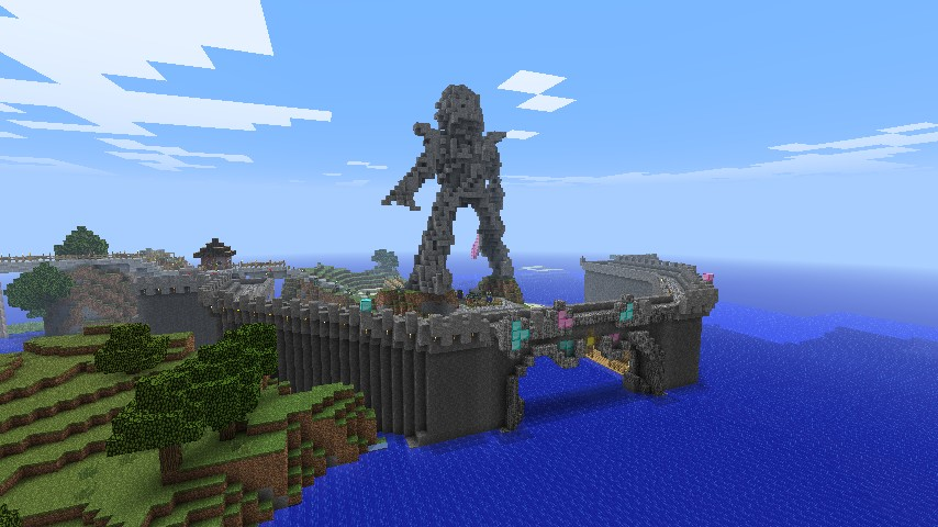The Legend Of The Gravitite Sword Minecraft Project