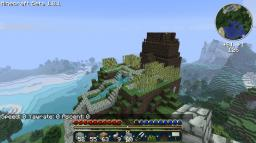 Mountain Library Minecraft Map & Project
