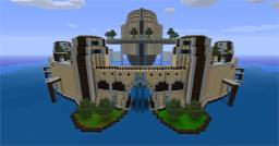 Floating Temple Minecraft Map & Project