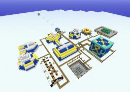 CRIMSON ATOMIC FACILITY Minecraft Project