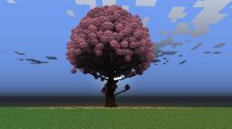 Cherry Blossom Tree Minecraft Map & Project