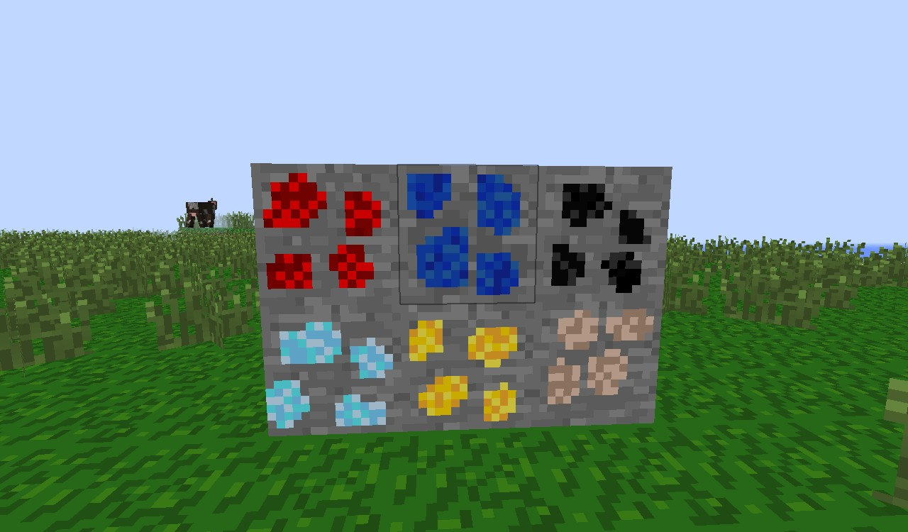 My ores :D