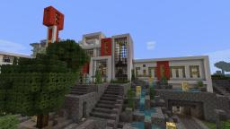 Modern Cinema Complex - Beach Town Project Minecraft Map & Project