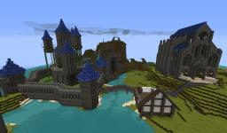 Floating Fairytale Castle Minecraft Map & Project