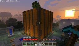 Its the Grate Pumpkin Charlie Brown Minecraft Map & Project
