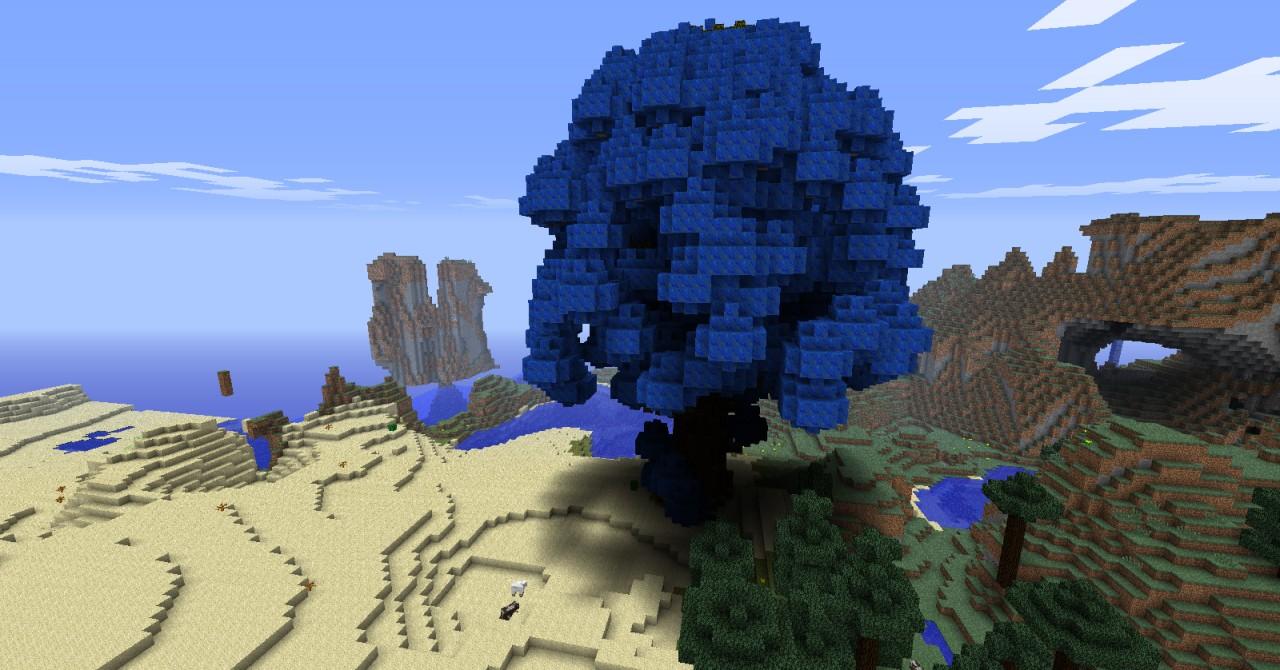 Blue blossom treegiantlike minecraft project blue blossom treegiantlike izmirmasajfo