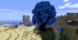 Blue Blossom Tree|GIANT|Like?| Minecraft