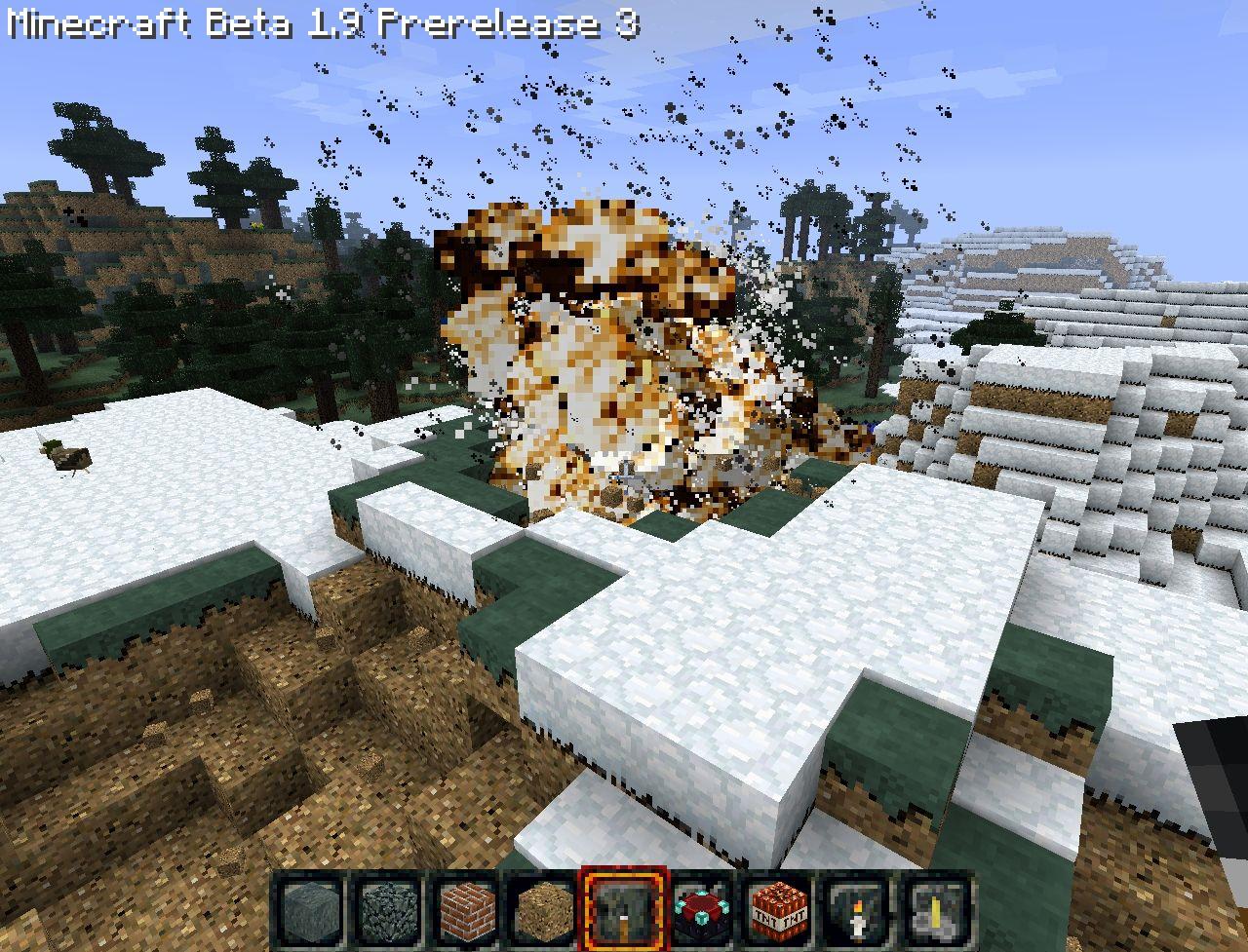 New Explosion