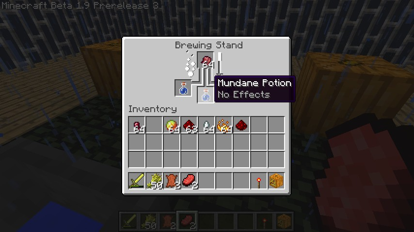 1 9 Prerelease Potion Making Minecraft Blog