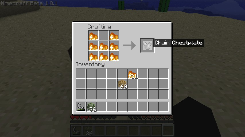 minecraft how to get fire block