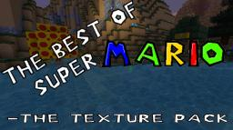 Super Mario Texture Pack (1.3.1 Ready!) (Updated!) (03-08-12!) Minecraft
