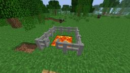 [1.8.1] Iron Fence (unflammable, stronger) Minecraft Mod