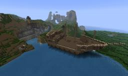 The Pirate Cove Minecraft Map & Project