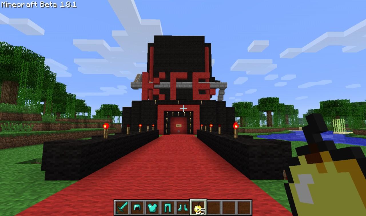 Redstone Funhouse Minecraft Map