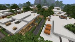 Modern Neighborhood - Beach Town Project Minecraft Map & Project
