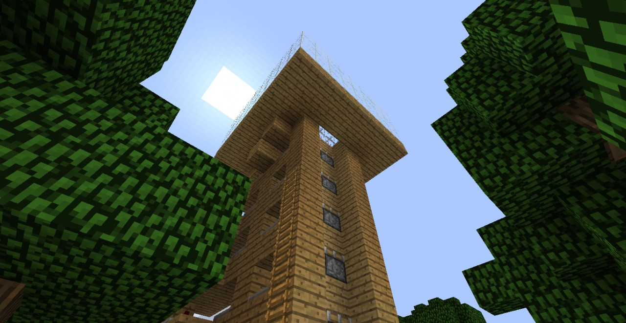 how to make a piston elevator in minecraft