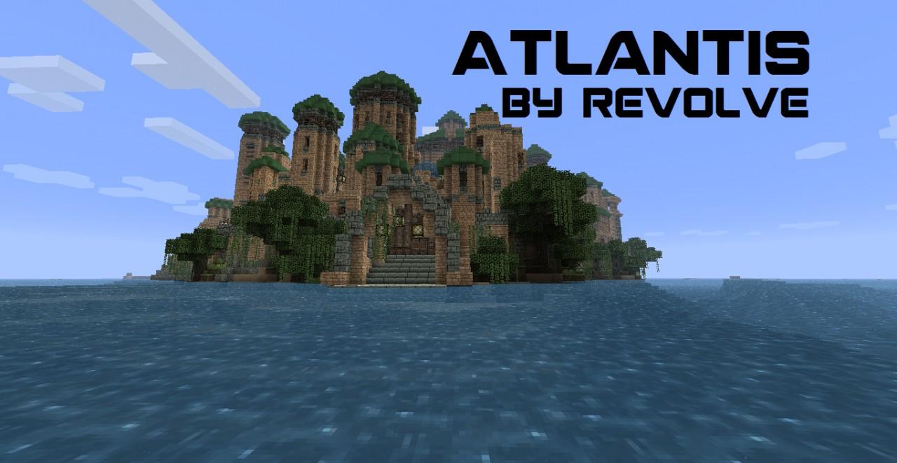скачать карты для майнкрафт atlantis #5