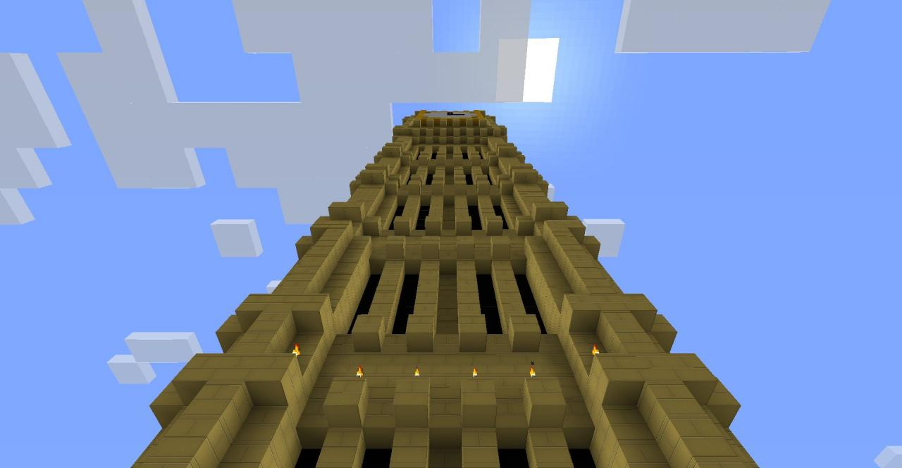 The big ben clock tower minecraft project the big ben clock tower malvernweather Choice Image