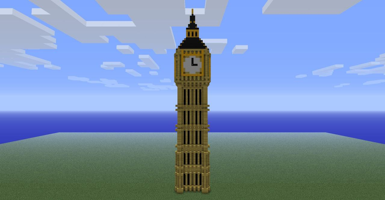 The Big Ben Clock Tower Minecraft Project