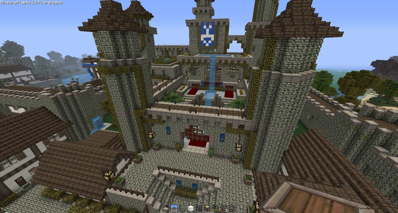 how to build a medieval town in minecraft