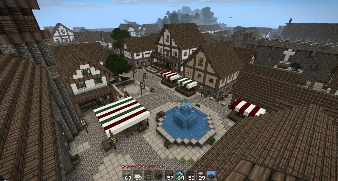 Home Design Image Ideas Minecraft Medieval Village Ideas