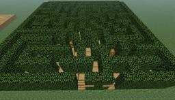 Small Hedge Maze Minecraft Map & Project