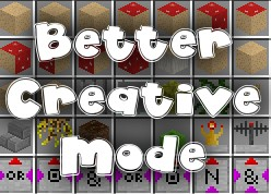 [1.0.0] Better Creative Mode + Better Quickbar + CHEAT KEY! Minecraft Mod