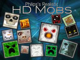 Philip's realistic: HD mobs [1.7.4 ready!] +elemental creepers + random mobs