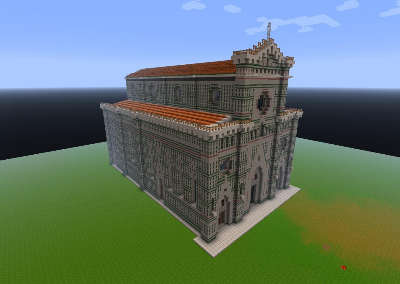 roof above nave and aisles done