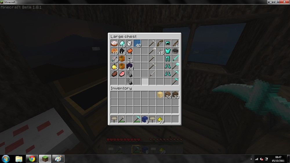 how to make a chest in minecraft survival mode