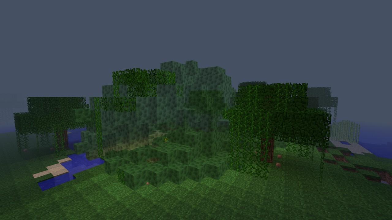 Forest killing blob / DARK ACID + SAPLING /