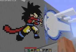 EPIC SS4 goku 10x kamehameha!!! Minecraft Map & Project