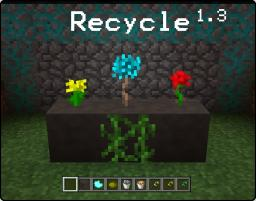 Recycle Mod 1.3 Minecraft Mod