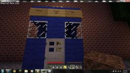 Eleventh doctor's Tardis Minecraft Map & Project