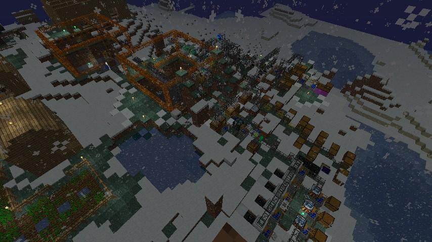 Minecraft техник quarry
