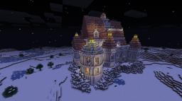 Beauty and the Beast Castle Minecraft Map & Project